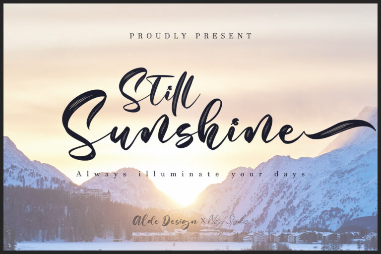 Preview image of Still Sunshine