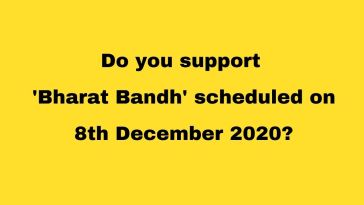 Poll on Bharat Bandh