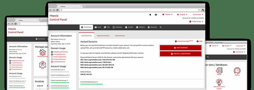 Billixx Website Domain Manager