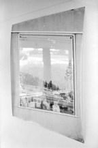 Bill Jones, Landscape #0, 1971, silver print, cut glass, 122 x 122 cm, 48%22 x48%22