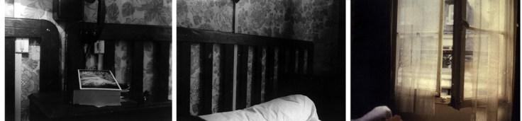 Bill Jones, Les Crimes de l' Amour, 1978, Colour and black and white photographs, 40.6 x 1219 cm, 16 x 480 in. (detail triptych 2). Collection The Art Bank