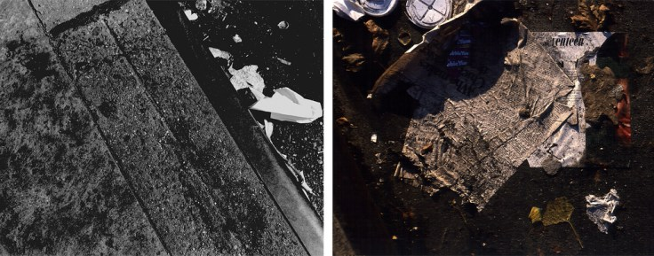 Bill Jones, The Human Condition (Library), 1979, diptych, color and silver print, 61 x 152 cm, 24 x 60 inches