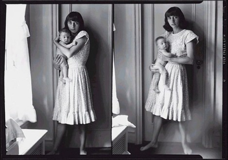 Diane Arbus, Self-Portrait with Child