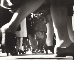 Lisette Model, feet, NYC