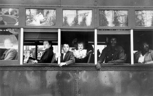 New Orleans Trolley, The Americans, Robert Frank, 1955-1956