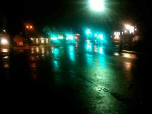 Hurricane Sandy Springfield Photo Essay 7:55 p.m. Oct. 29, 2012