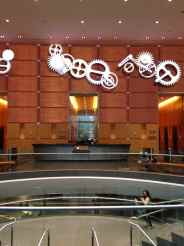 The whimsical lobby of the Comcast Center, 1701 John F. Kennedy Blvd. Dating Comcast Nightmare