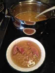 Capitol Bean Soup As Per Chef Bill Sr.