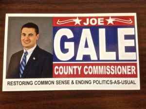 Joe Gale Seeks Montco Commissioner Seat