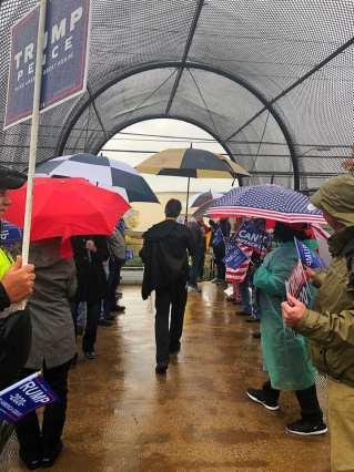 Crowd Protests Divisive Scanlon Over Impeachment Push