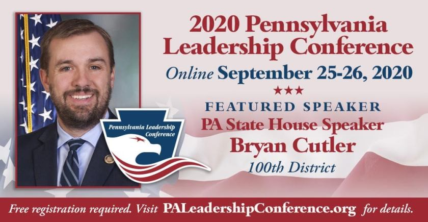 Pennsylvania Leadership Conference 2020 is Sept. 25-26 and will be virtual. Registration is required but it is free. It can be found here.