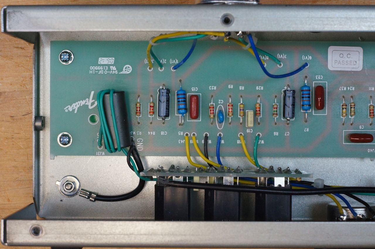 Amp Input Jack Wiring Diagram Billm Audio 187 Fender Excelsior And Excelsior Pro