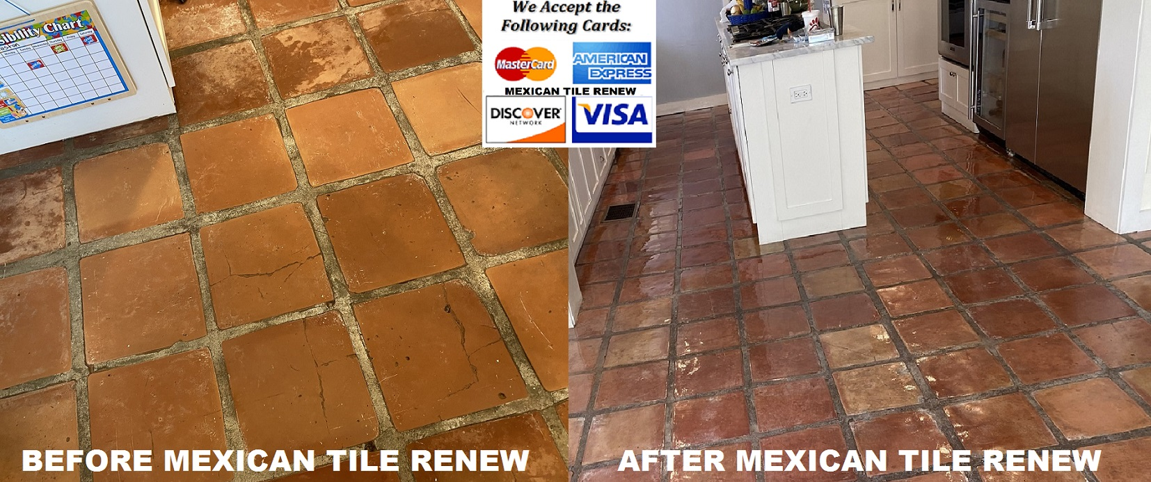 cost to restore saltillo tile floors