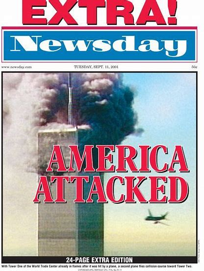 NEWSDAY FRONT PAGE
