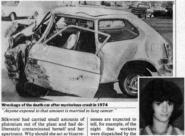 Karen Silkwood death unsolved
