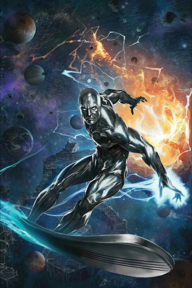 Enlisting Silver Surfer to help in my Cosmic Quest