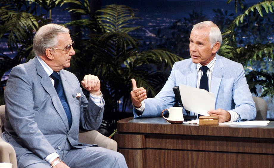 With Ed McMahon