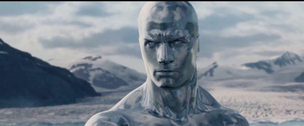 Silver Surfer challenges God.
