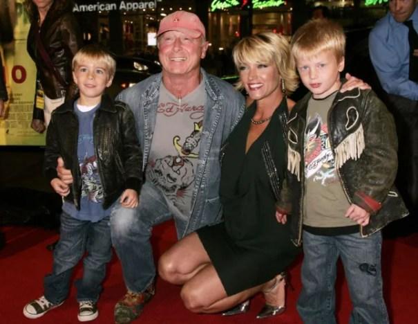 Tony scott and family