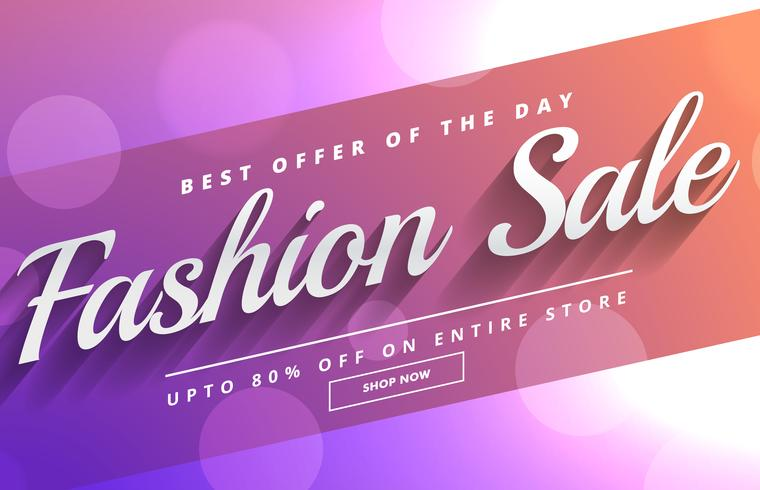 Fashion Sale Discount Voucher Template