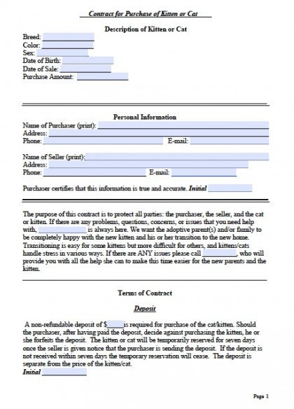 free bill of sale forms