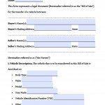 Free Massachusetts Bill Of Sale Forms Pdf Word Doc