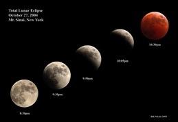 Mt. Sinai NY lunar Eclipse