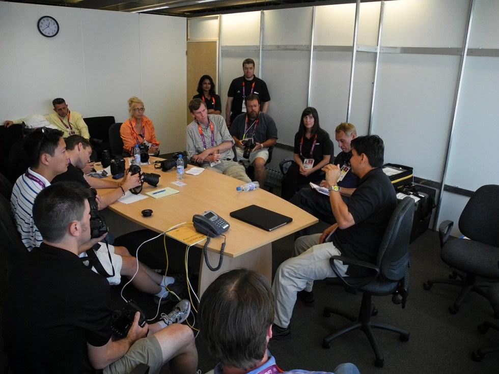 USA Today - US Presswire training