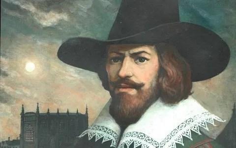 Pintura de Guy Fawkes