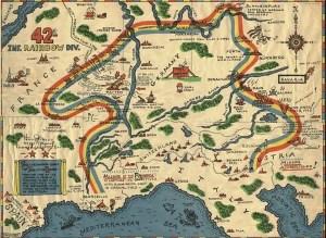 Rainbow Division Map