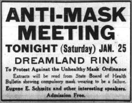 Anti-Mask Meeting