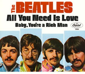 All You Need Is Love (Beatles single   cover art)