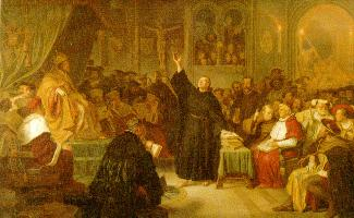 Martin Luther at Worms