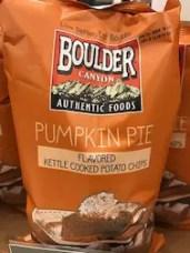 Pumpkin Spice Chips