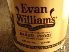 Evan Williams Barrel Proof 6