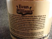 Evan Williams Barrel Proof 7