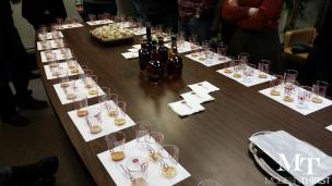 The group tasting