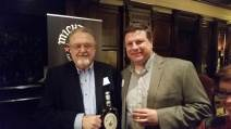 me (on the right) with Master Distiller Willie Pratt