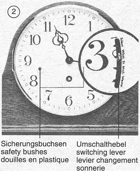Instructions for Chiming Mantel Clock (340 movement)
