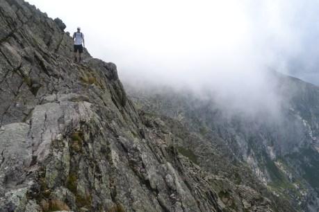 Heading toward the Chimney