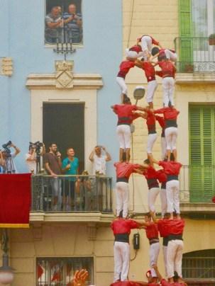Castellers Ajuntament de Gràcia