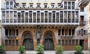 Palau Guell, El Raval, Barcelona