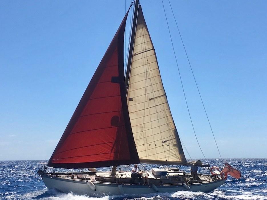Sailing yacht Barcelona