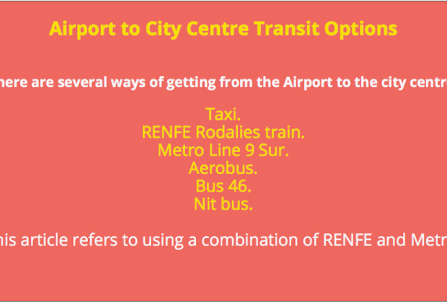 Airport Terminal 1 transit options