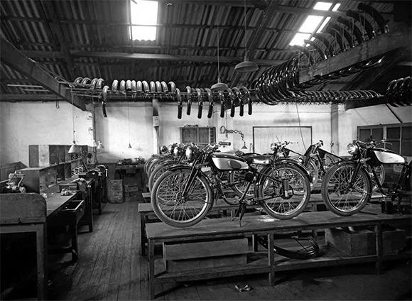 Montesa factory as was on Carrer de  Còrsega, Barcelona
