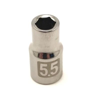 Craftsman 1/4 dr 6 pt 5.5mm easy read socket