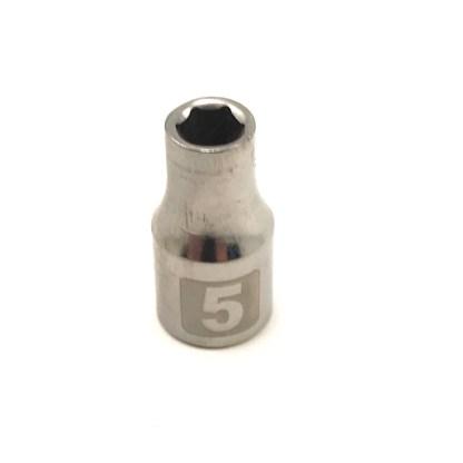 Craftsman 1/4 dr 6 pt 5mm easy read socket