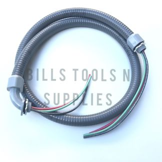 Electrical Whip 1/2in X 4ft DIVERSITECH 6-12-4NM