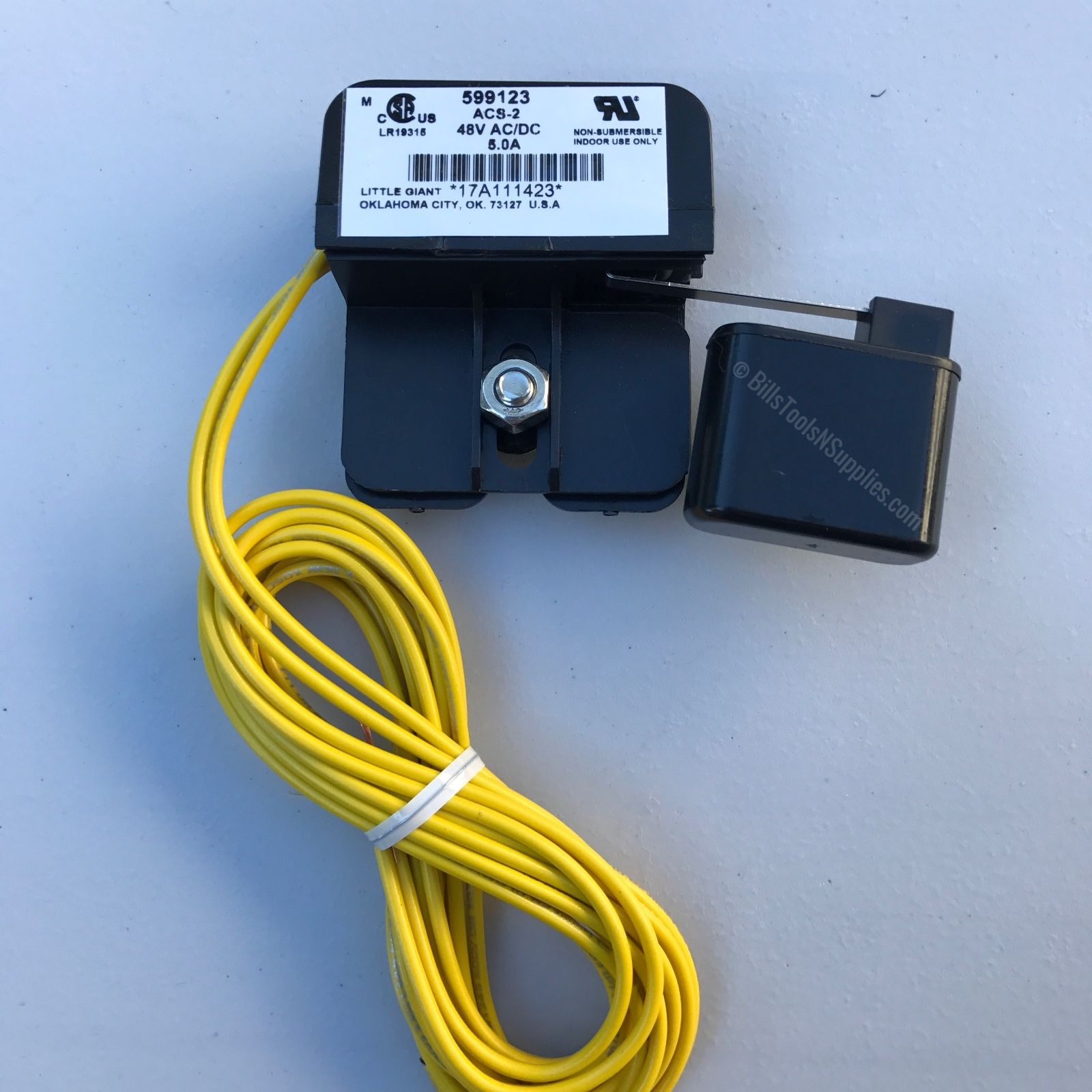 Little Giant Safety Overflow Float Switch