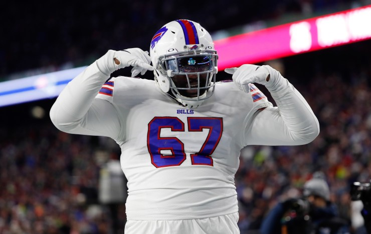 Buffalo Bills release OL Quinton Spain